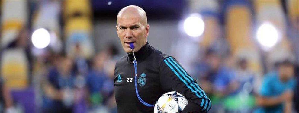 Zinedine Zidane ha pedido la vuelta de Achraf Hakimi para echar a Marcelo u Odriozola