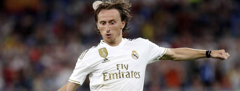 Luka Modric ha pedido una reunión con Florentino Pérez para conocer los planes que tienen