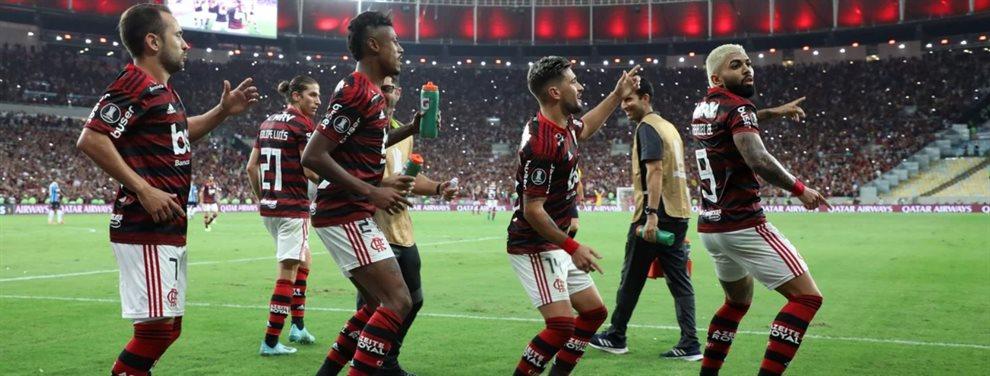 Flamengo buscará conquistar la Copa Libertadores con la experiencia europea de su plantel.