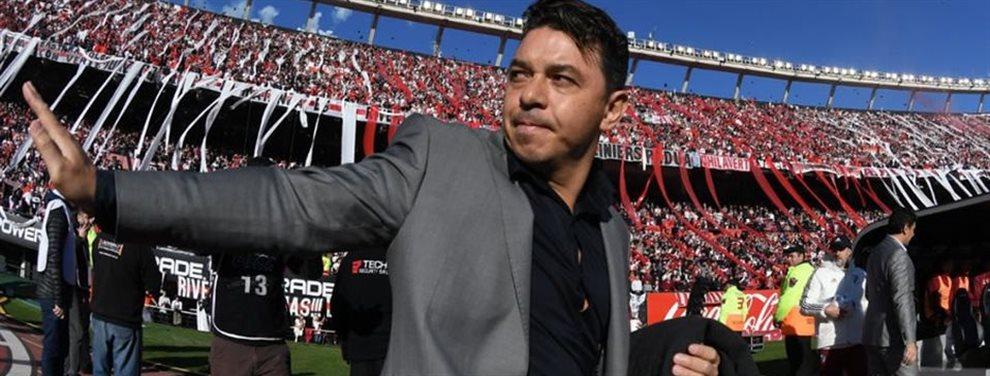 Marcelo Gallardo dirigirá su primera definición de la Copa Libertadores de América con River.
