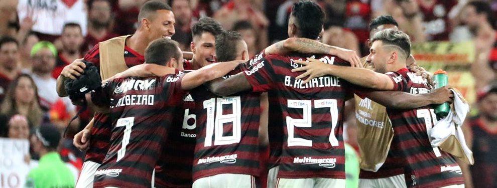 El camino que recorrió Flamengo hasta la final de la Copa Libertadores ante River.