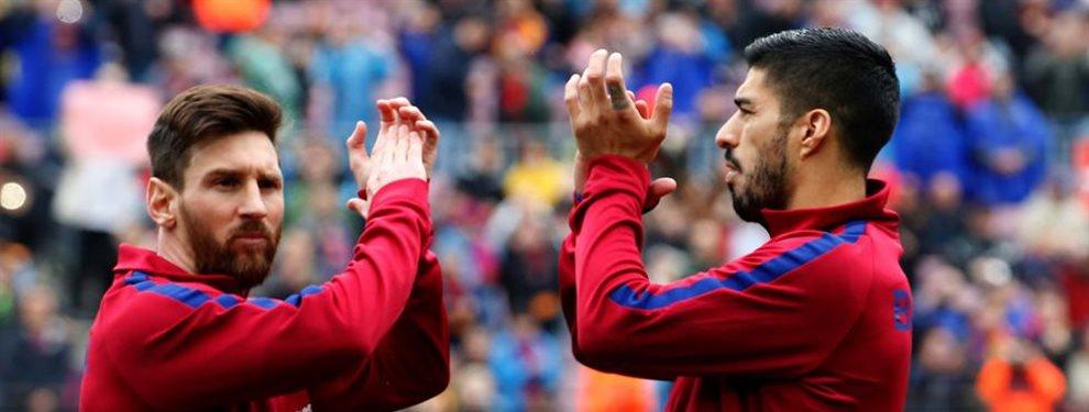 Leo Messi y Luis Suarez compiten entre ellos por primera vez y se nota la tensión entre ambos. Bartomeu del lado de Suarez y molesto con Messi. Hablarán...