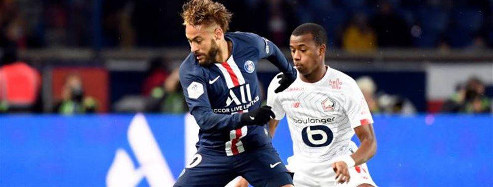 El jugador brasileño del PSG Neymar Junior reaparece tras varias semanas de lesión y confirma que finalmente se irá al Bernabeu a jugar. París conmocionada