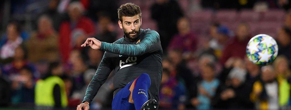 El técnico blaugrana Ernesto Valverde y Gerard Piqué chocan frontalmente un día antes del encuentro en Leganés por un permiso no concedido a Piqué. Mira...