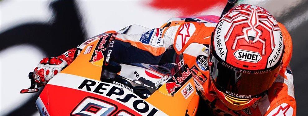 Él incendio que asoló a Andrea hace pensar a Marc Márquez y pide cambiar su moto: Es otra de las condiciones que pone Márquez para su Honda