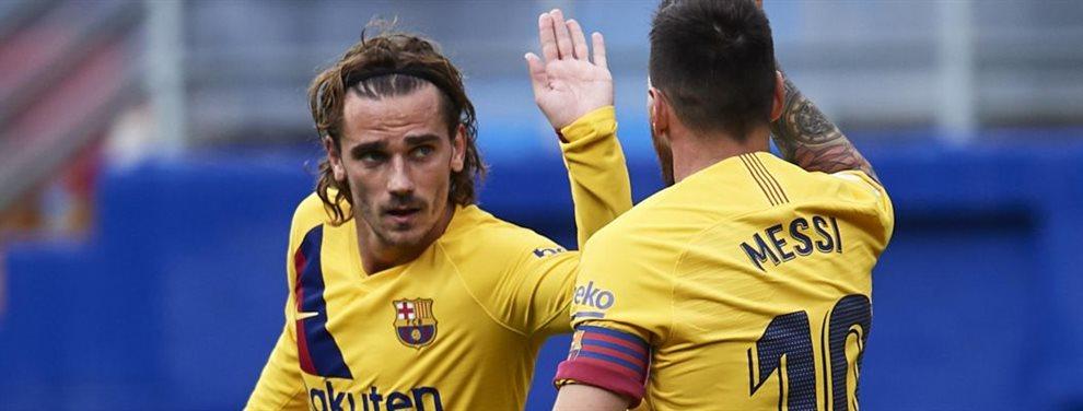 El jugador Antoine Griezmann desespera a Valverde en Butarque y es cambiado por el feo partido que estaba realizando. Vidal logró el gol de la victoria...