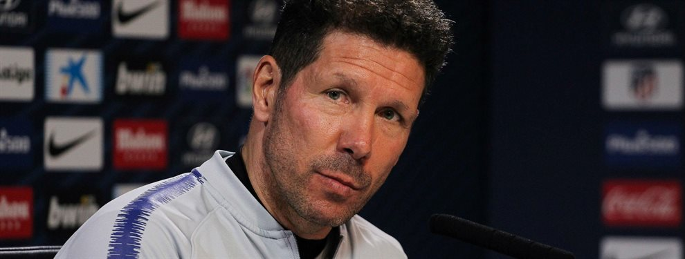 Simeone y su Atlético de Madrid están siendo una de las decepciones de esta temporada en el fútbol español.
