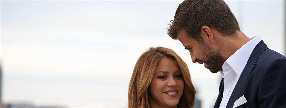 Shakira pone unas duras condiciones para estar con Piqué y el enfado de el jugador del Barça no se hace esperar. El gesto es evidente y muy feo entre ambos