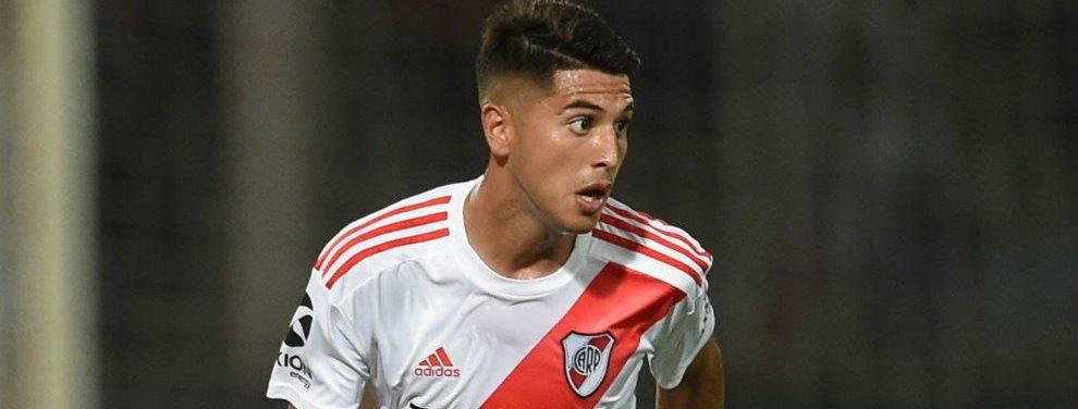 Ajax de Holanda pretende incorporar en el próximo mercado de pases a Exequiel Palacios.