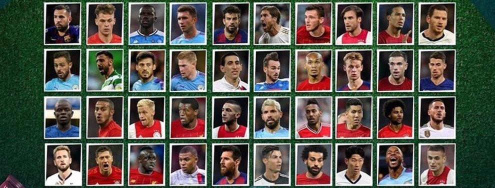 Cuatro futbolistas argentinos fueron nominados a integrar el Equipo del Año de la UEFA.