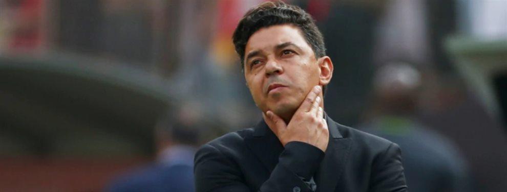 Luego de ser vinculado con Barcelona y Bayern Munich, Marcello Gallardo suena en otro equipo.