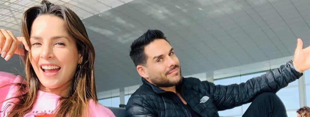 Carmen Villalobos comparte con su marido Sebastián Caicedo su rutina de belleza, se intercambian mascarillas y cremas para seguir estando tan estupendos.