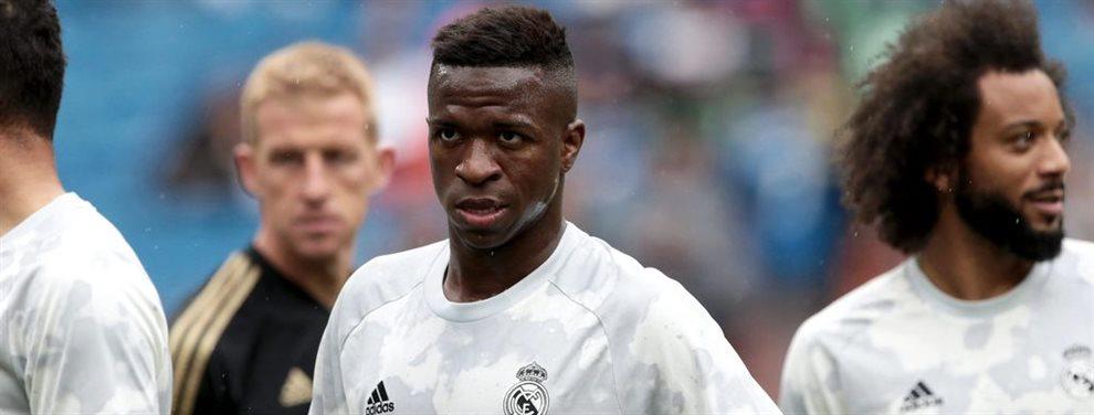 ¡Confirmado y termina de hundirle! ¡Vinicius recibe la noticia y su pesimismo en el Real Madrid se agrava! ¡Zidane le dice que acepte, no cuenta para él!