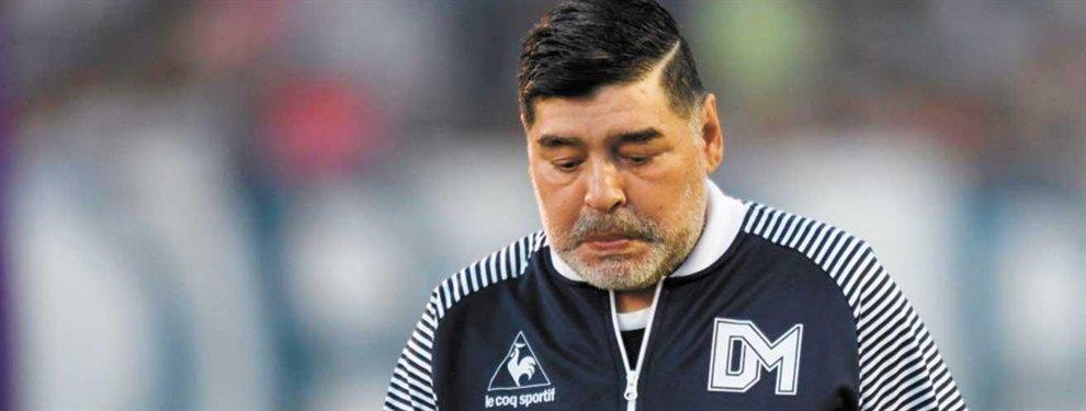 Diego Maradona podría realizar una inesperada modificación en Gimnasia