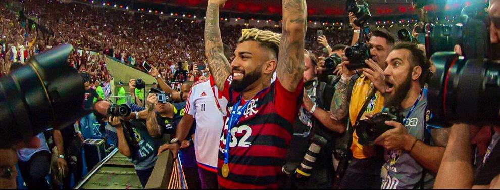 Luego de haber convertido dos goles en la final de la Copa Libertadores, el futuro de Gabigol es incierto.