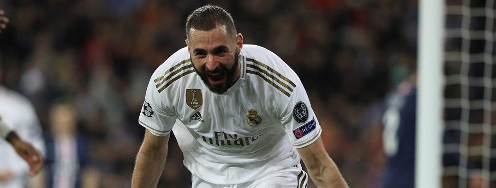 Karim Benzema y Florentino Pérez no se ponen de acuerdo al negociar su renovación