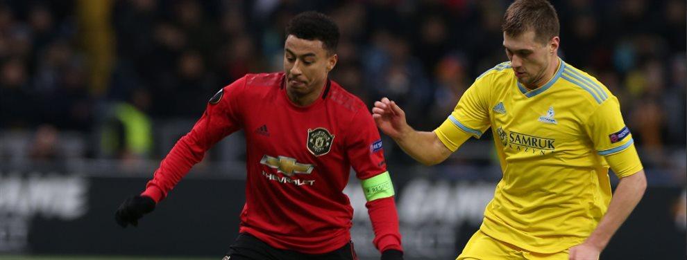 Con la formación más joven en la historia del club en Europa, Manchester United cayó ante Astana.