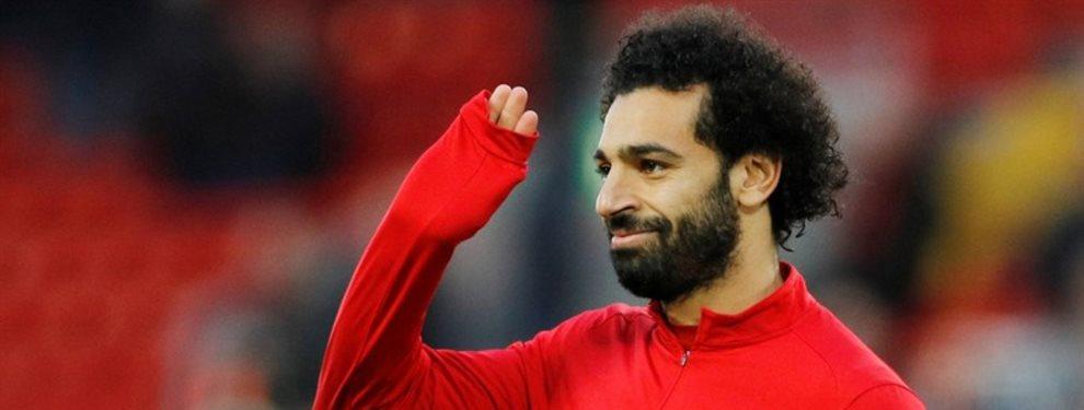 Equipos como el Paris Saint-Germain están dispuestos a pagar 200 millones por Salah