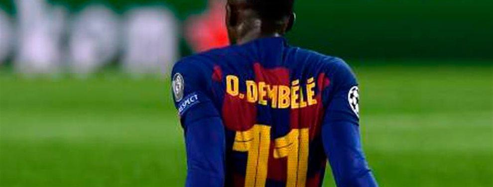 Ousmane Dembele ha jugado su último partido con el Barcelona. Había cambiado ciertas cosas que le había pedido su club excepto la más importante de todas..