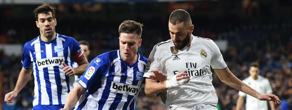 El Real Madrid venció ante el Deportivo Alavés en un partido que tuvo que sudar y que descubrió que quizás está algo corto de efectivos.