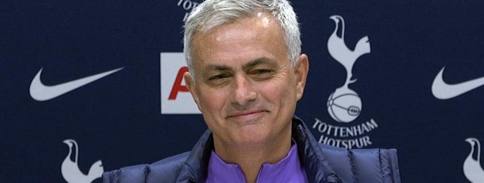 José Mourinho de ser el próximo técnico del Real Madrid, pasó a robarle un fichaje a Florentino Pérez.