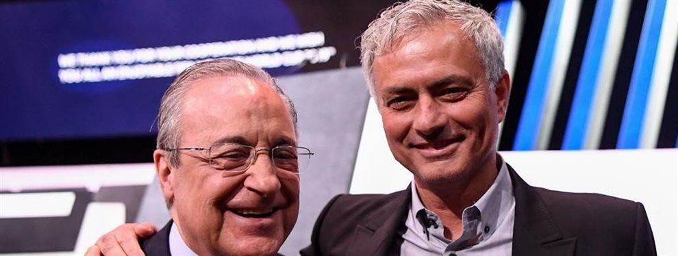 Se filtra la oferta que Florentino envío a Jose Mourinho para que actuase de un modo muy particular ante la oferta del Tottenham. No tiene desperdicio....