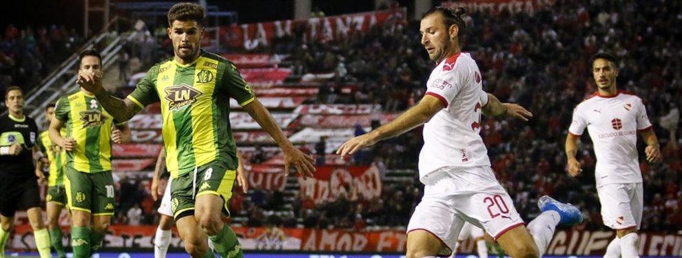 En el estadio José María Minella de Mar del Plata, en el marco de la fecha 15, Aldosivi e Independiente se enfrentaron.