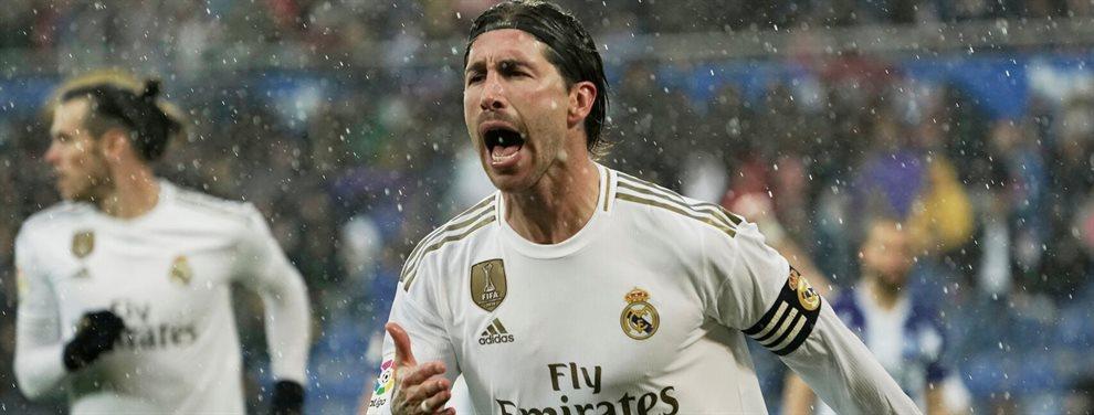 Tanto Zinedine Zidane como Florentino Pérez ven con buenos ojos dar salida a Eder Militao