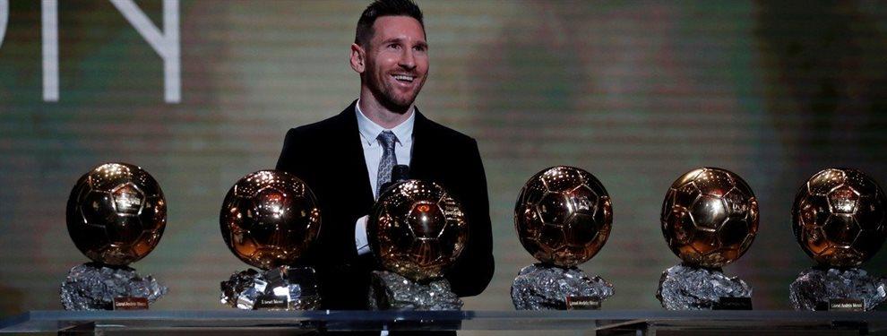 Lionel Messi volvió a hacer historia y conquistó el sexto Balón de Oro de su carrera.