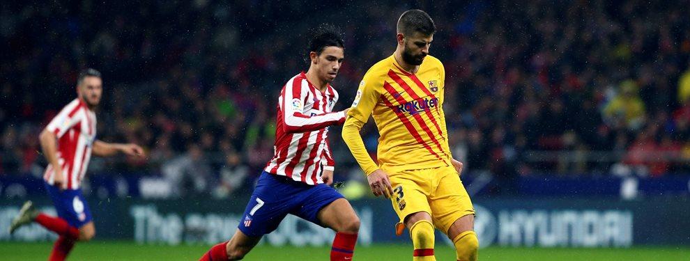 Gerard Piqué ha destapado un debate tras su lesión en el último partido ante el Atlético