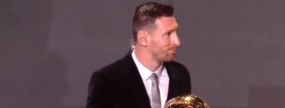 El Real Madrid también ha tenido protagonismo en la gala del Balón de Oro por un fichaje