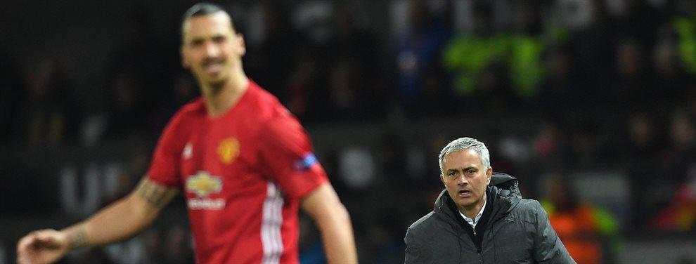 Zlatan Ibrahimovic renuncia a Mourinho, le traiciona y firma por su eterno rival ¡El bombazo toma forma e 'Ibracadabra' ya tiene equipo y es un grande!