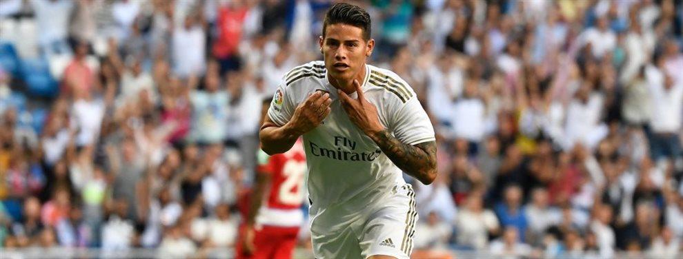 El Real Madrid estuvo negociando la venta de James Rodríguez en el Balón de Oro al Arsenal
