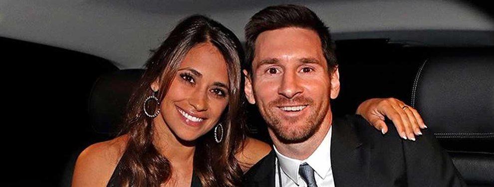 Antonella Roccuzzo fue también protagonista en la gala del Balón de Oro ganado por Messi