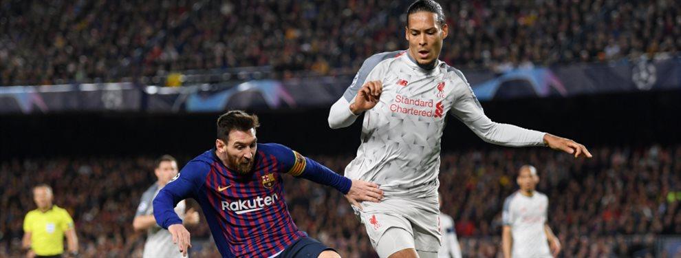 La ínfima diferencia de puntos por la que Lionel Messi superó a Virgil van Dijk en la votación del Balón de Oro.