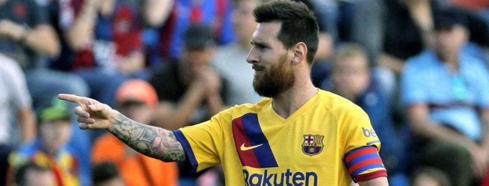 Leo Messi ha pedido al Barça el fichaje de Kylian Mbsppé