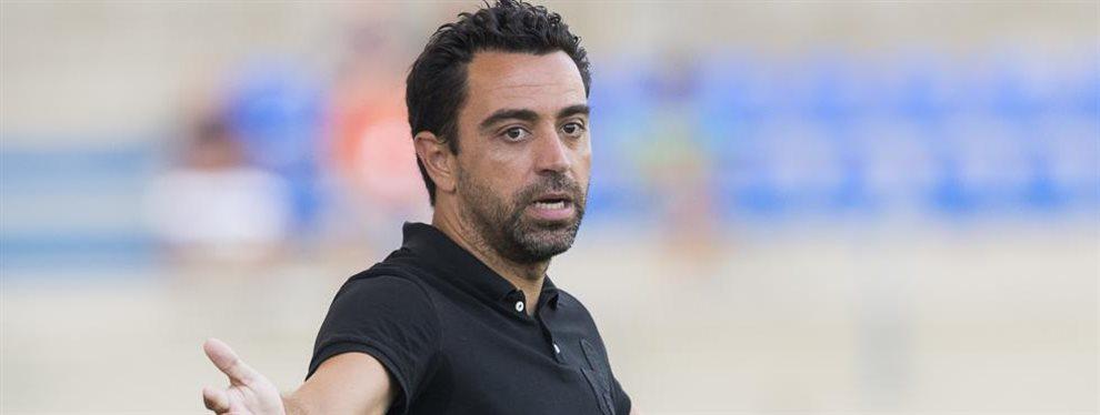 """Los cánticos de """"Xavi Out"""" que se escucharon en el estadio del Al-Saad hace menos de un mes"""