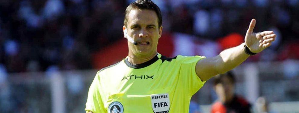 Los árbitros designados para impartir justicia en la jornada 16 de la Superliga Argentina de Fútbol.