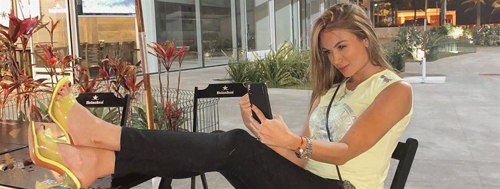 La pareja de Freddy Guarín, Sara Uribe reacciona a los chismes que circulan con un posado de lo más sensual en donde deja ver parte de su bellísimo físico