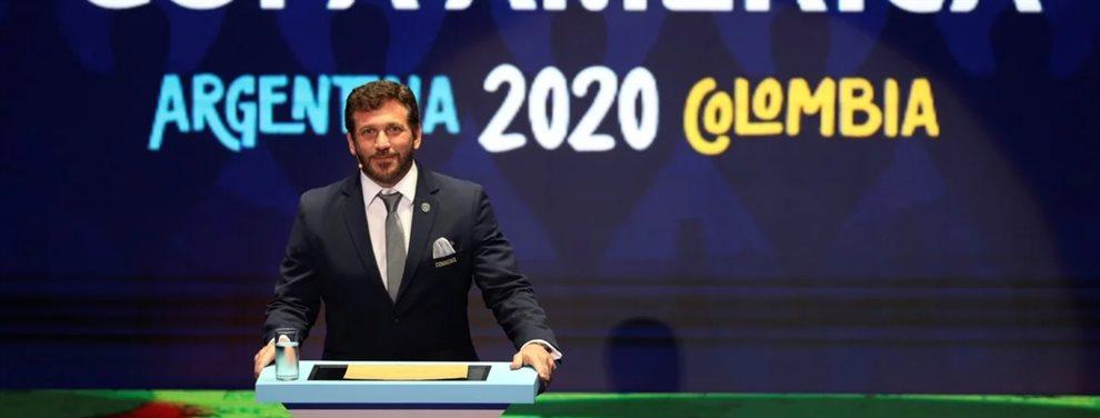 El fixture completo de la fase de grupos de la Copa América 2020 que se jugará en Argentina y Colombia.