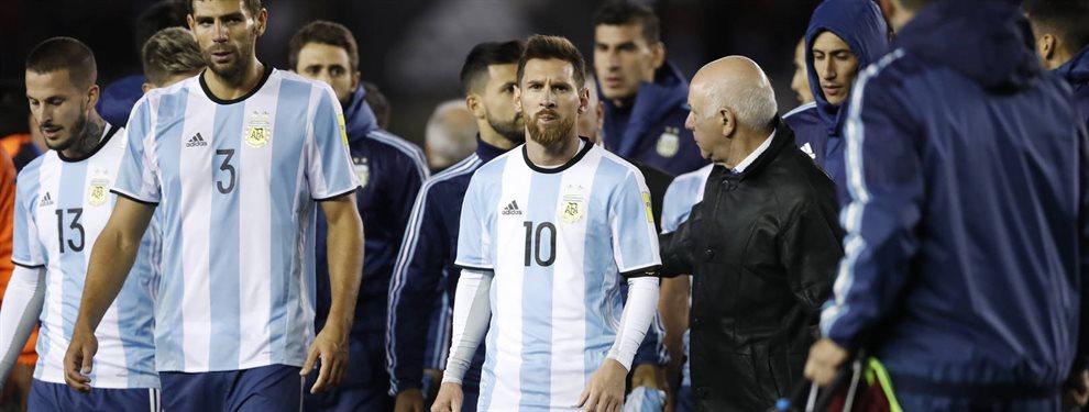 El último partido que la Selección Argentina disputó en el estadio Monumental de River.