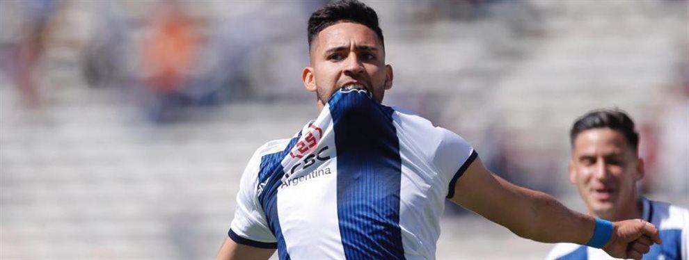 Nahuel Bustos, goleador y figura de Talleres de Córdoba, se encuentra en el radar de River.