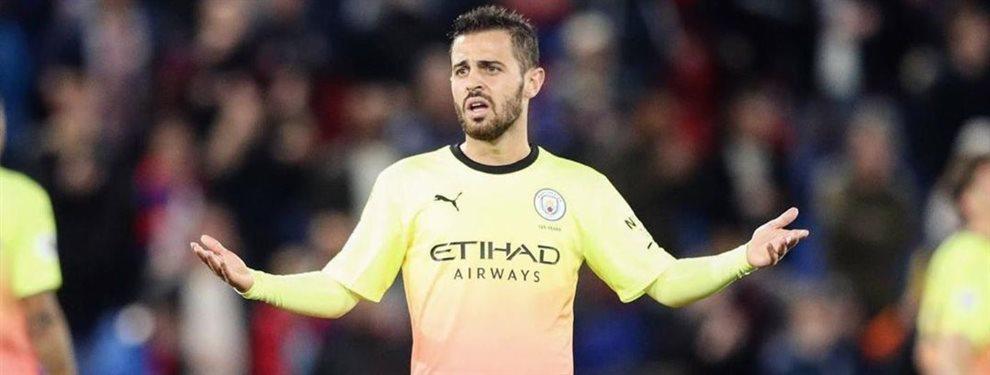 El Manchester City de Pep Guardiola está dispuesto a incluir a Bernardo Silva en la operación por Neymar
