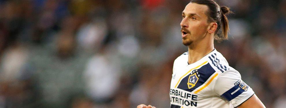 Zlatan Ibrahimovic confirmó que regresará al fútbol italiano, pero no anunció a cuál equipo.