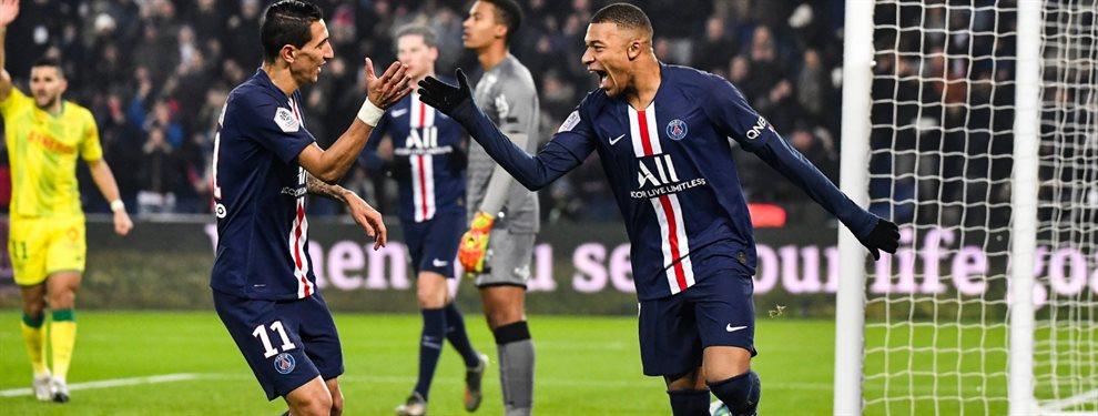 Kylian Mbappé igualó una marca de Carlos Bianchi en el último partido del Paris Saint Germain.