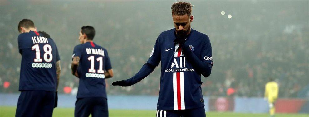 Neymar Junior ha rechazado la última oferta de renovación del Paris Saint-Germain