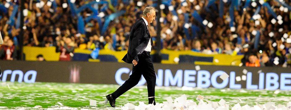La última formación que Gustavo Alfaro podría utilizar en su ciclo en Boca ante Rosario Central.