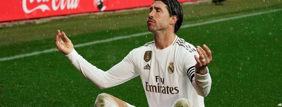 Sergio Ramos alejó a un galáctico de la Casa Blanca, pero no hay mucho que se le pueda reclamar después de dejar la vida por la camiseta.