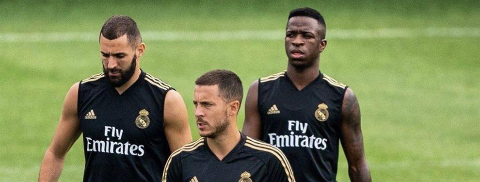 Zinedine Zidane vuelve a enfrentar un duro reto al frente del Real Madrid. La tranquilidad parece imposible en el equipo blanco.