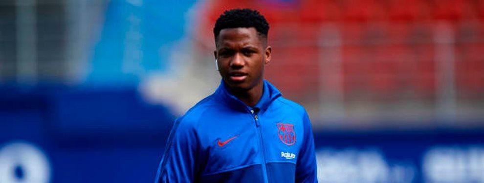 El equipo TOP que ha obligado al Barça a renovar a Ansu Fati